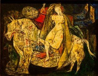 Eduardo Abela, El rapto de Europa, -1