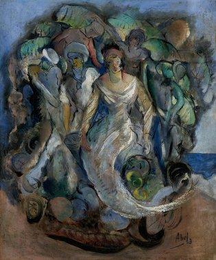 Eduardo Abela, El triunfo de la rumba, 1928