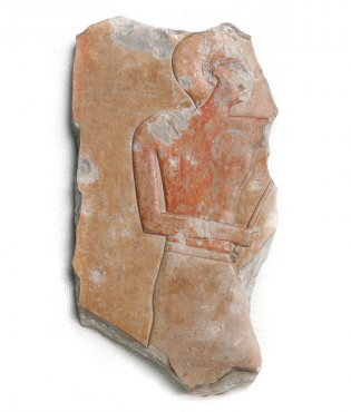 Anónimo, Fragmento de bajo relieve, 2081