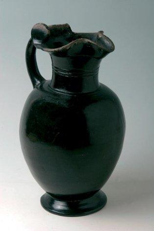 Anónimo, Enocoe con esmalte negro, -1