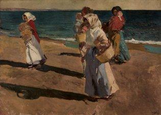 Joaquín Sorolla Bastida, Pescadoras valencianas, 1904