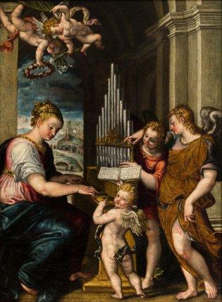 Giovanni Battista Farinati, Santa Cecilia
