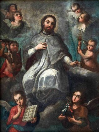 Joseph de Paéz (7 de diciembre de 1721- h.1790) Nació en la ciudad de México, San Juan Nepomuceno con ángeles