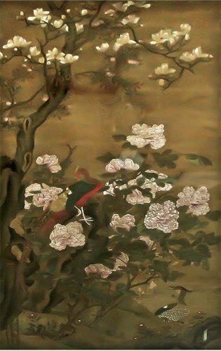 Anónimo, Pájaros y Flores