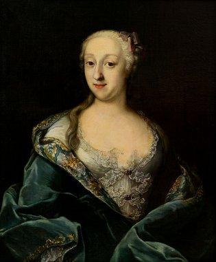Pietro Longhi, Retrato de una dama noble veneciana