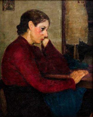 Ramón Loy, Descanso en el taller, 1920