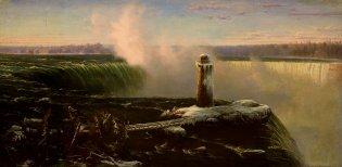 Regis Francois, Las cataratas del Niagara, 1858