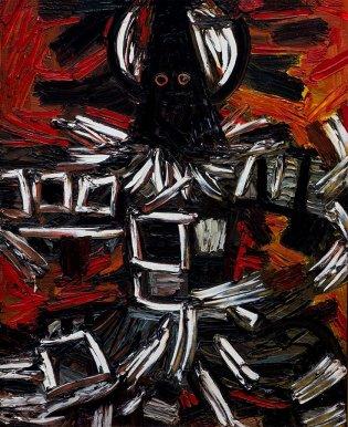 René Portocarrero, Diablito no. 3. De la serie Color de Cuba, 1962