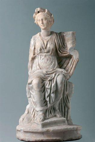Anónimo, Estatuilla de Fortuna o de Cibeles