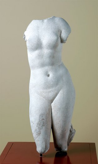 Anónimo, Torso de Afrodita