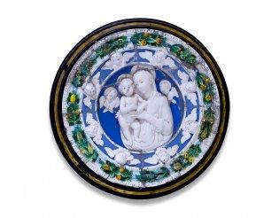 Della Robbia (siglos XV y XVI). Taller de, La virgen y el niño