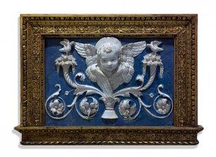 Taller de los Della Robbia, Relieve con busto de ángel