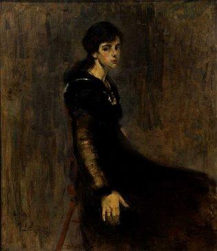 Victor Manuel García, Joven sentada, 1917