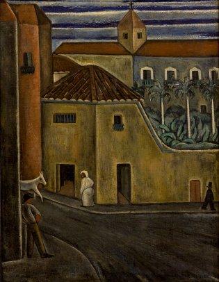 Victor Manuel García, Vista de una calle, 1936