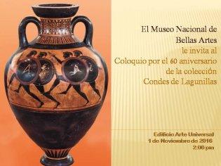 COLOQUIO  60  ANIVERSARIO DE  LA COLECCIÒN  CONDES  DE  LAGUNILLAS