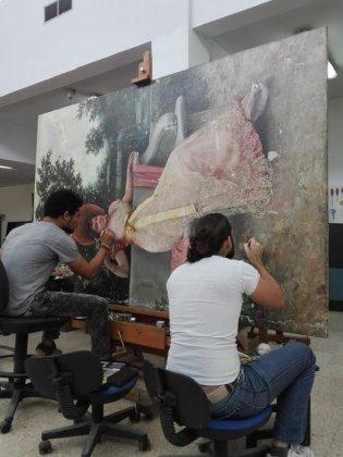 Homenaje desde el Departamento de Restauración al Bicentenario de la Academia San Alejandro