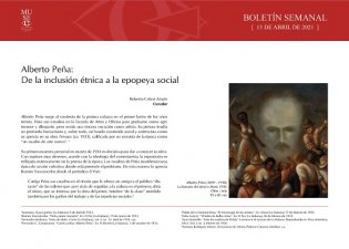 Alberto Peña, de la inclusión étnica a la epopeya social