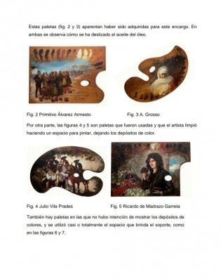 Paletas de pintor y paletas pintadas: algunas consideraciones técnicas