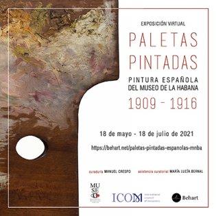 Catálogo Paletas Pintadas. Pintura española del Museo de La Habana 1909-1916