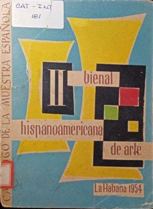 II Bienal Hispanoamericana de Arte portada