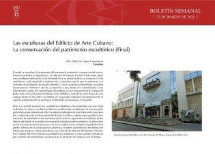 Las esculturas del Edificio de Arte Cubano (Final)