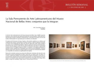 La Sala Permanente de Arte Latinoamericano del Museo Nacional de Bellas Artes: conjuntos que la integran
