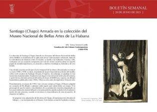Santiago (Chago) Armada en la colección del Museo Nacional de Bellas Artes de La Habana