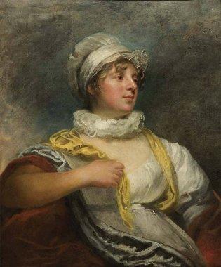 Sir William Beechey (1753-1839) Lady Betty St. Claire Óleo sobre tela; 77,5 x 63, 5 cm