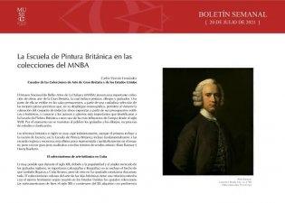 La Escuela de Pintura de Gran Bretaña en las colecciones del MNBA
