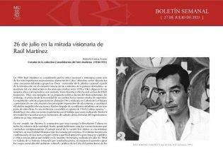 26 de julio en la mirada visionaria de Raúl Martínez
