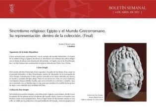 Sincretismo religioso: Egipto y el mundo grecorromano (Final)