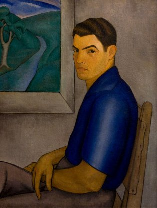 Autoretrato, ca. 1935    84 x 63 cm