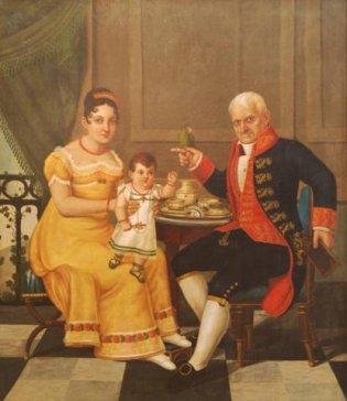 Desatribución de la autoría del retrato de La Familia Manrique de Lara al pintor Juan Bautista Vermay