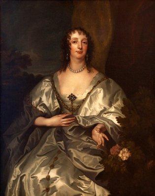 Retrato de Charlotte Stanley, Lady Strange. ca. 1638. Óleo/tela; 125 x 100,5 cm