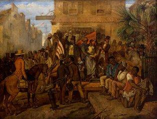 Subasta de Esclavos, Eyre Crowe