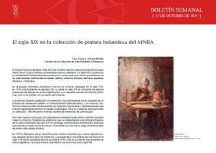El siglo XIX en la colección de pintura holandesa del MNBA